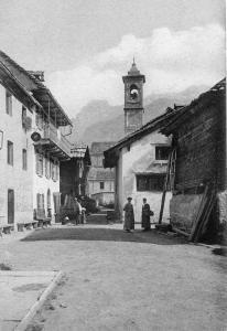 """L'osteria del """"Caval Bianco"""" a Chiesa"""
