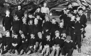 Bambini della scuola elementare di Formazza a Suna